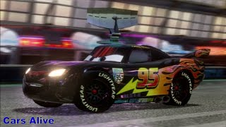 Cars 2: Game Play - Carbon Fiber Lightning McQueen - Ginza Sprint