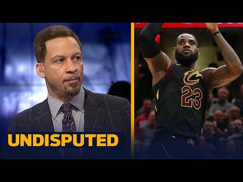 Chris Broussard reacts to LeBron's Game 3 game-winning shot vs Toronto | NBA | UNDISPUTED