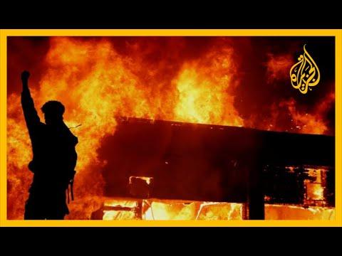 مقتل فلويد.. تواصل الاحتجاجات في أميركا لليوم السادس على التوالي????