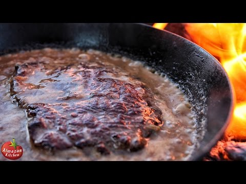 Epic Hunter's Steak! - Ultimate Cooking Outside