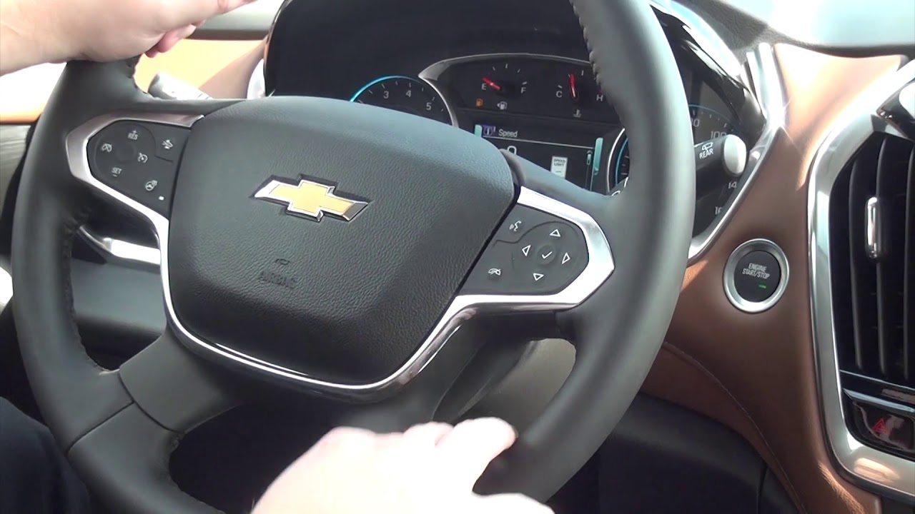 Phillips Chevrolet - 2019 Chevy Traverse High Country - Interior Features