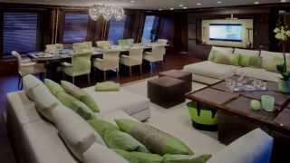 The Most Spectacular Yacht in the World with Indoor Pool