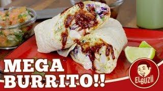 Burrito de Camarón (Receta Fácil) - El Guzii