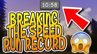 WE BROKE THE DUNGEON QUEST SPEED RUN RECORD!!! (Roblox)