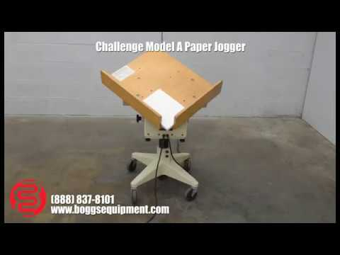 Challenge Model A Paper Jogger