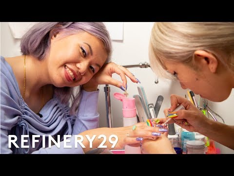 I Got A $300 3D Japanese Manicure | Beauty With Mi | Refinery29