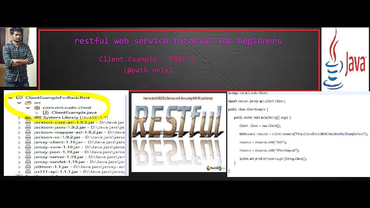 Create java client for restful web services part 1 youtube create java client for restful web services part 1 baditri Images