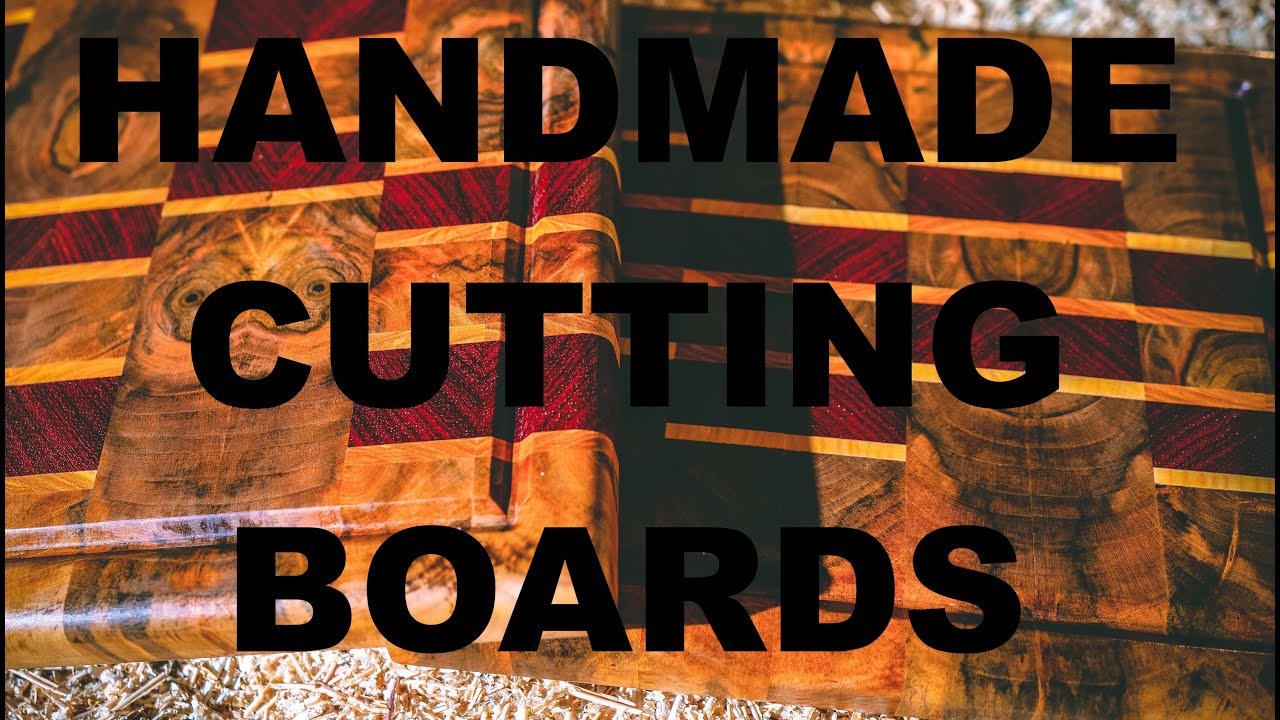 handmade Cutting Boards by BF