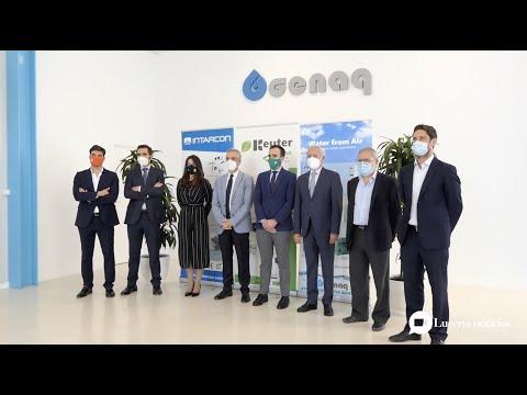 VÍDEO: El Grupo Keyter Intarcon Genaq anuncia el inminente inicio de su nueva factoría industrial en Lucena