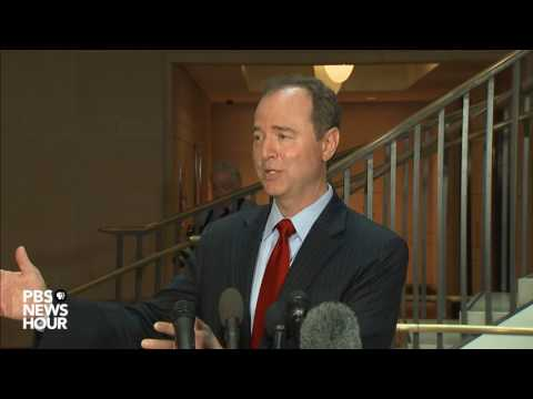 Rep. Adam Schiff speaks on Donald Trump Jr. emails