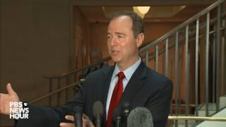 Rep. Adam Schiff speaks on Donald Trump Jr. emails