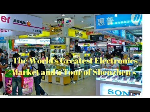 CHINA TOUR DAY 3 HUAQIANGBEI ELECTRONICS MARKER