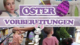 VORBEREITUNGEN FÜR OSTERN! Einkaufen und schmücken für das Osterfest