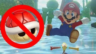 Mario Kart 8 Deluxe Red Shell Wall Dodges 4