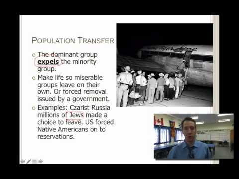Sociology Lesson 15- Patterns of Dominant Groups