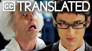[TRANSLATED] Doc Brown vs Doctor Who. Epic Rap Battles of History. [CC]