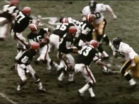 1968 Browns at Steelers Game 10