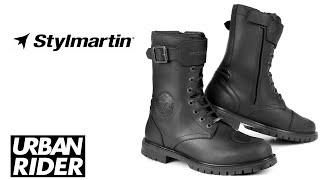 Stylmartin Atom Urban Ankle Motorcycle Boots Black