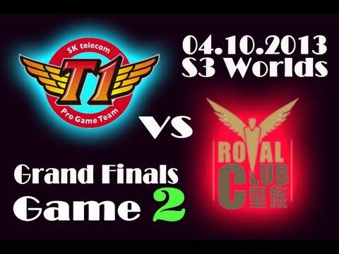 SKT T1 vs RYL | SK Telecom T1 vs Royal Club Game 2 | Finals of Season 3 World Championship | S3 VOD