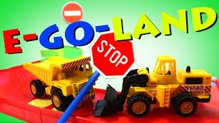 Правила дорожного движения для детей! Мультик про машинки! Часть 1
