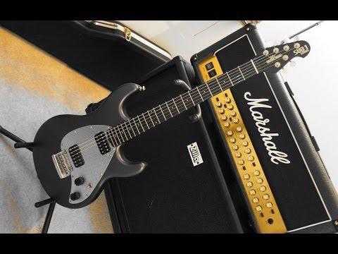 Kris Gee - 'Slow & Heavy' MusicMan SUB1 USA and POD HD500X Metal Tone