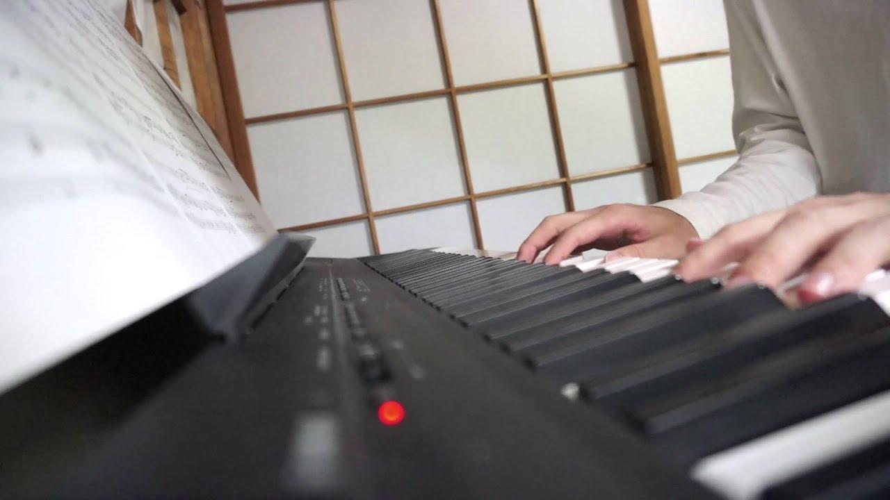 ♪t♪(おと)を弾いてみた(ピアノパートのみ)