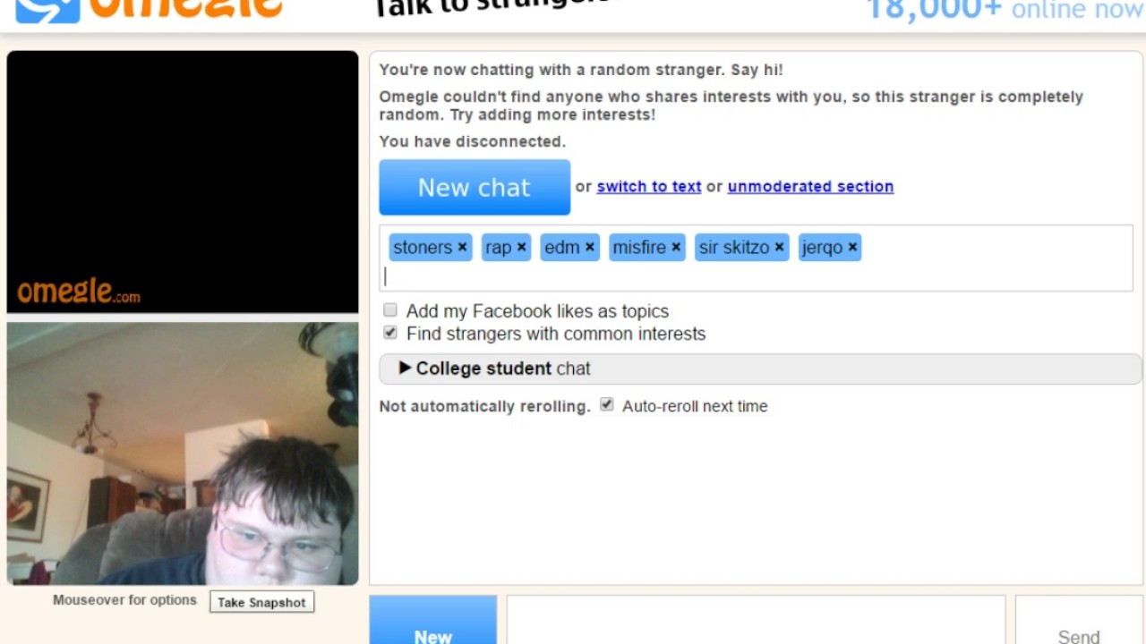 Andere Chats wie Omegle