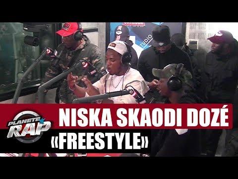 Freestyle Niska, Skaodi & Dozé #PlanèteRap