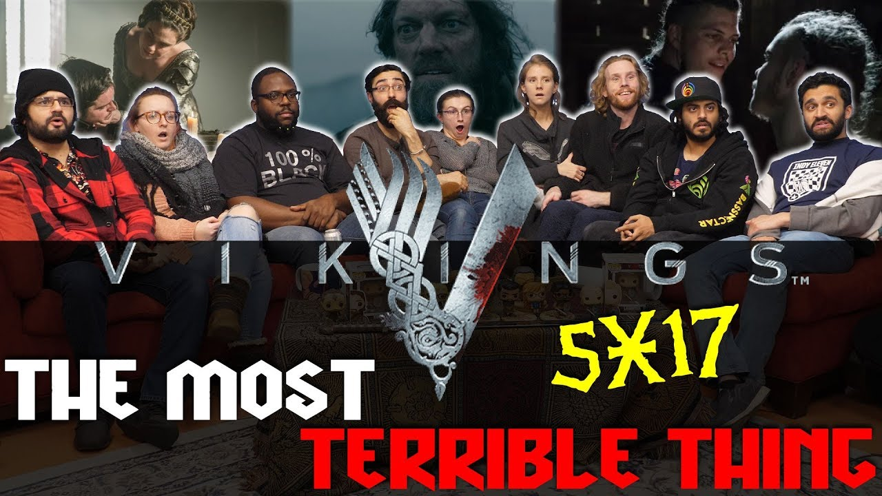 Download Vikings - 5X17 The Most Terrible Thing - Group Reaction