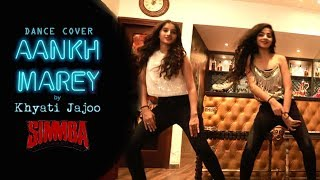 Aankh Marey | SIMMBA | Khyati Jajoo Choreography | Dance Cover | Wedding Dance