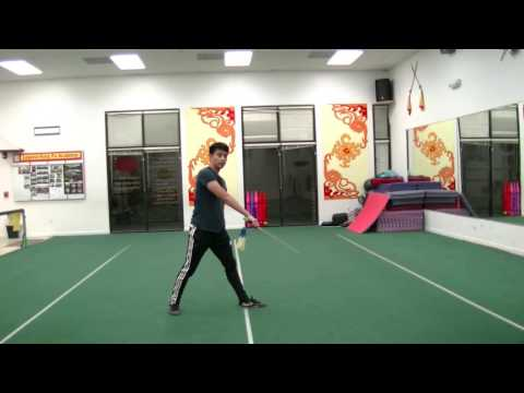 Part 1 First International Jianshu Straight Sword Competition Form Tutorial