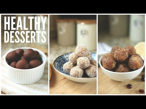 3 Easy Date Ball Recipes | Healthy Snack & Dessert Ideas