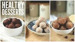 3 Easy Date Ball Recipes   Healthy Snack & Dessert Ideas