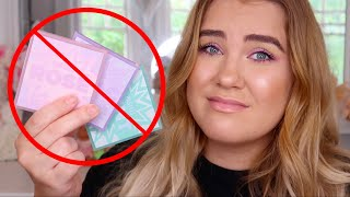 HUDA BEAUTY PASTEL PALETTES *PURCHASED* REVIEW | Paige Koren