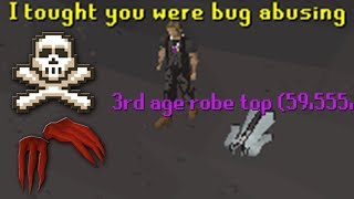 Pretending To Be a 3rd Age Item (OSRS)