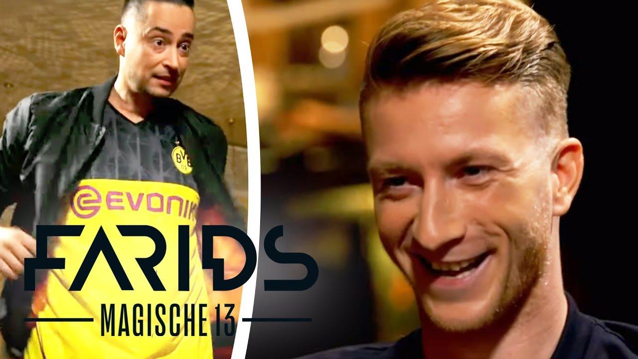 Gedankenlesen mit Marco Reus! An was denkt der BVB-Profi? | Farids Magische 13 | ProSieben