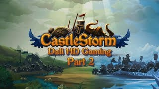 CastleStorm PC Gameplay HD 1440p part 2 (Levels completed on Hard setting)