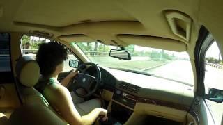 BMW 540i Muffler Delete...Loud