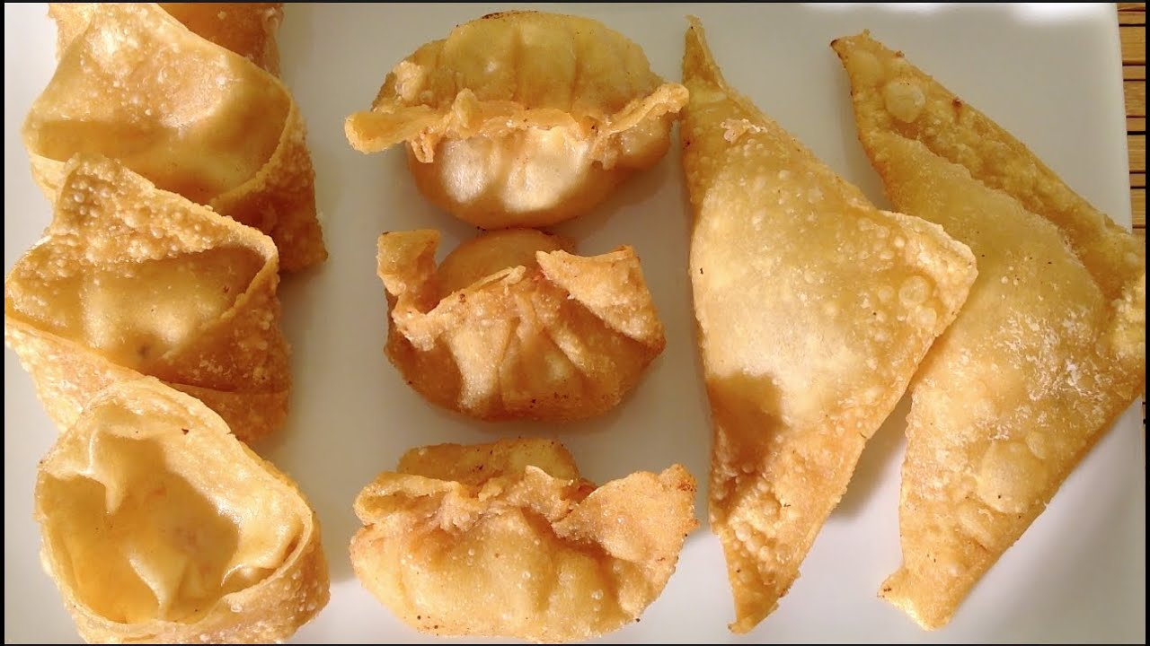 How To Make Fried Wontons With Cream Cheese Shrimp-Asian Food Recipes ...