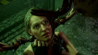 Jill Gets Infected With Parasites - Death Scene - Resident Evil 3 Remake
