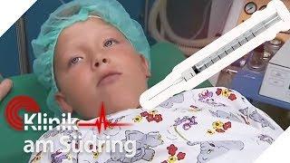 Spürt dieser Junge keine Schmerzen? Er will eine OP ohne Narkose! | Klinik am Südring | SAT.1 TV