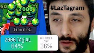 Nolur 2.000 TAŞ Aldırmayın..! (ALDIM!) #LazTagram Brawl Stars