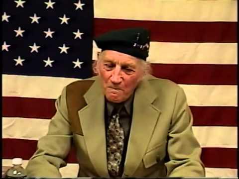 Stanley Karboski, First Sergeant, US Army Rangers, World War Two