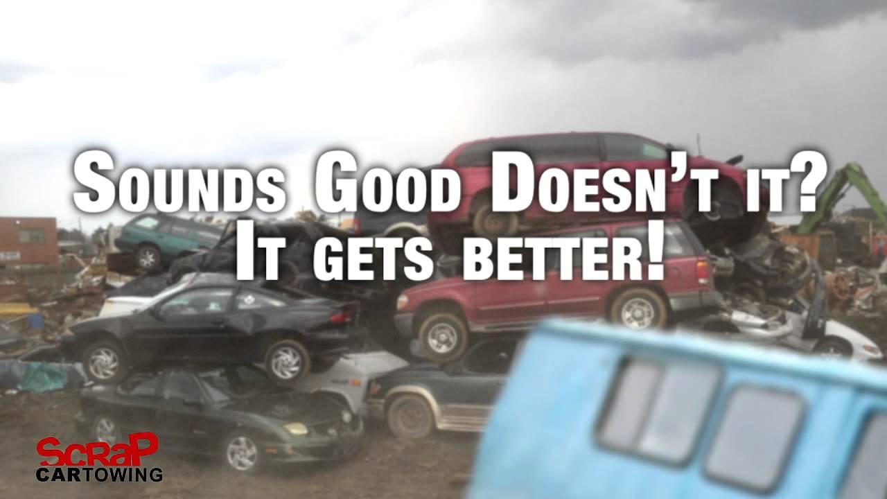 Scrap Car Towing - Toronto Scrap Yard Car Towing - YouTube