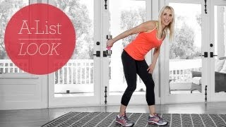 One Dumbbell Total Body Tone Workout | A-List Look With Valerie Waters