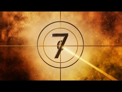 Fiverr Logo Intro 3D Golden Countdown...