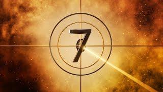 Fiverr Logo Intro 3D Golden Countdown Animation