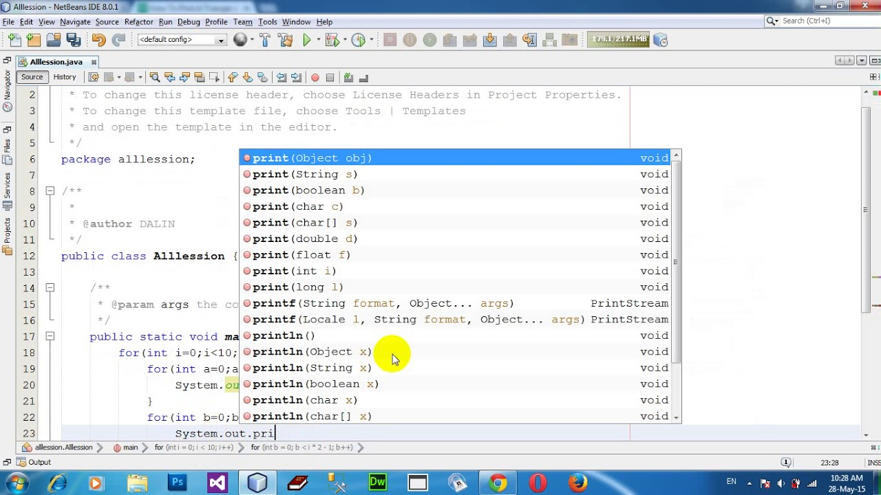 How To Print A Triangle In Java Using For Loop Swing Netbeans