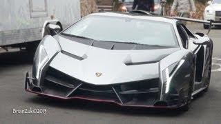 Lamborghini Veneno On The Road