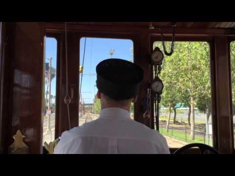 Los Angeles Waterfront Red Line Car (bonus footage)